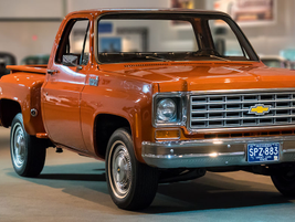 The 1975 Chevrolet truck line was the best-selling truck in the industry, selling nearly 750,000...