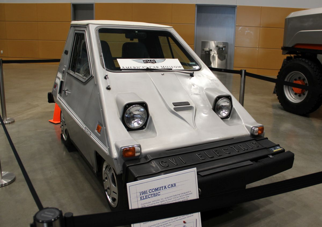 LeMay - America's Car Museum loaned GTSE a 1981 Comuta-Car Electric to check out.