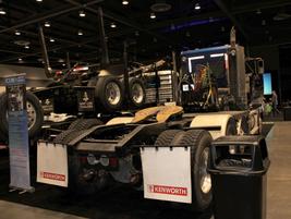 ICOM Automotive displayed its Kenworth propane conversions.