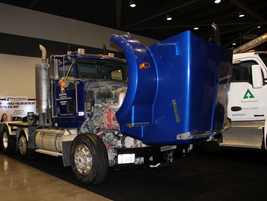King County, Wash., also brough its big Kenworth truck to the show.