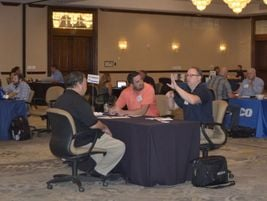 "Likened to ""speed dating for fleet,"" breif meetings help everyone cut straight to the point."