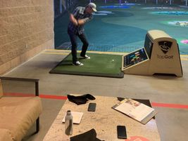 A night out at Top Golf helped everyone unwind and have a great time.