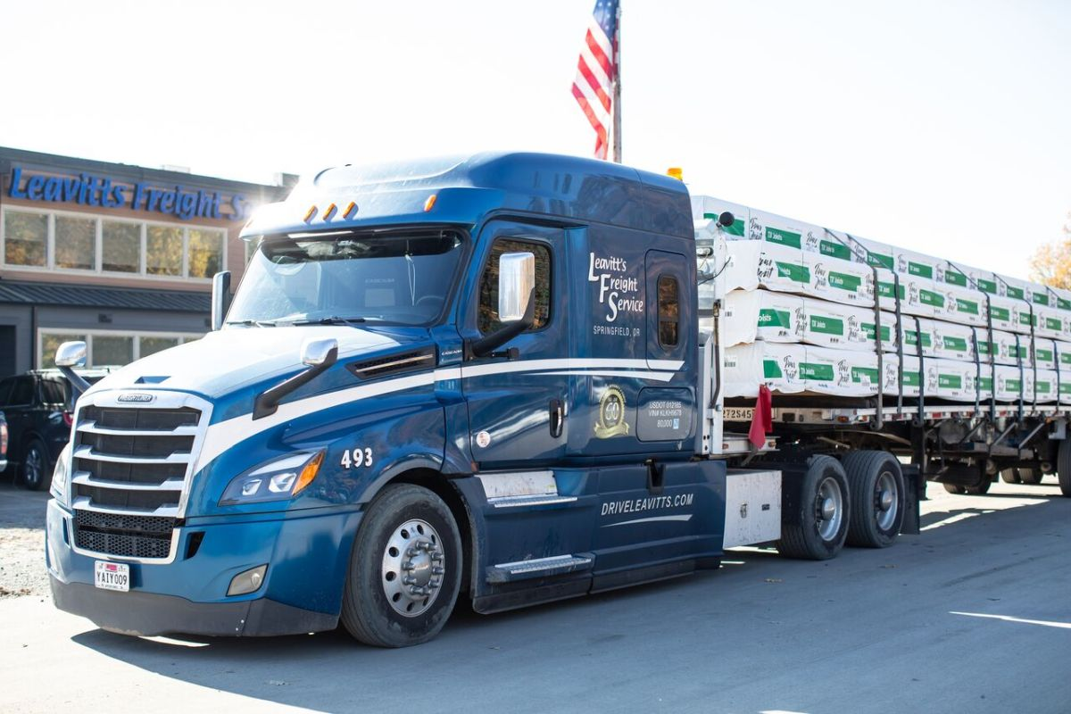 Leavitt's Freight Service Commits to Safety