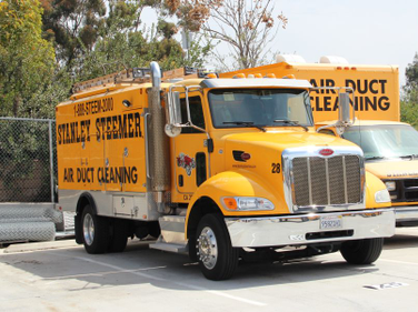 The San Diego branch of Stanley Steemer has approximately 54 vehicles in its fleet, including a...