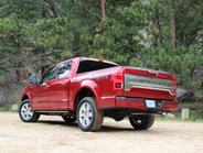 The 4x2 truck achieves an EPA-estimated fuel economy rating of 30 mpg highway, 22 mpg city, and...