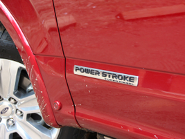 This marks the first-time ever Ford has put a diesel powertrain into the F-150. Photo by Lauren...