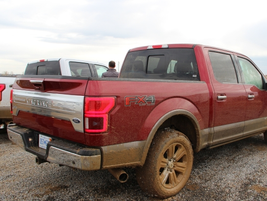 The Ford F-150 got a little muddy on the off-road course. Photo by Lauren Fletcher