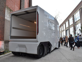 During the event, Michelin announced that it would deploy the Einride's T-pod at its production...
