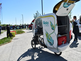 Outside of the conference, attendees were invited to visit the Micromobility track, which...