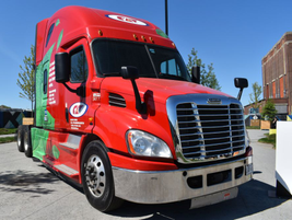 Heavy-duty trucks were a main target of discussion during the event, as several sessions were...