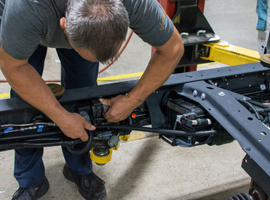 It can take just around 12 hours and nine easy steps to convert a gasoline-powered work truck to...