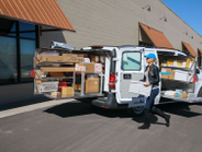 CargoGlide Van WallSlide allows everything stored on a fixed shelf, drawer, or bin to roll out...