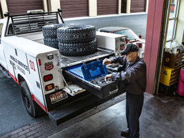 DECKED is introducing the addition of a new service body fitment to its line of products for...