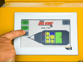 The Sage Oil Vac NextLube monitor system improves mobile service technicians' on-the-job...