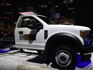 The F-600 Super Duty Chassis Cab delivers the capability of a Class 6 truck in a Class 5 Super...