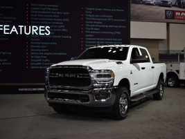 Ram Trucks unveiled the Tradesman trim of its 2019 Heavy Duty pickup, geared toward vocational...