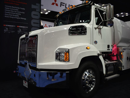 Western Star showcased a range of trucks for vocational fleets to choose from.