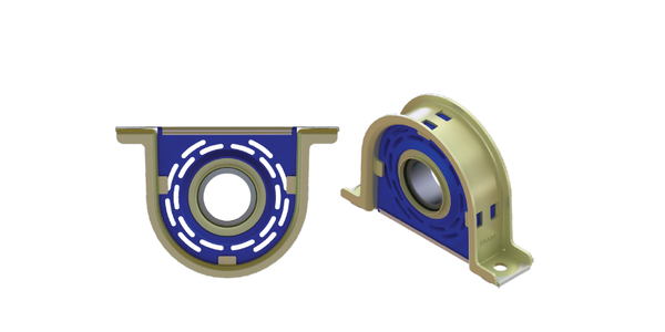 Atro Carrier Bearing Assembly Built for Class 6-7