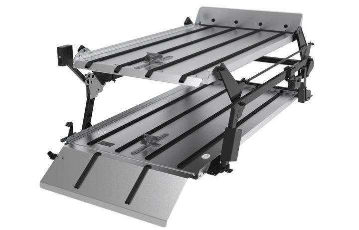 Loading cots, cremation containers, air trays, and caskets is made easier with the system's intelligently engineered features, according to the manufacturer. - Photo: Link