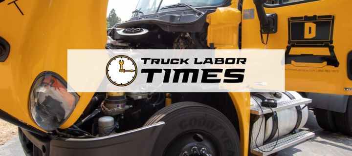 By utilizing the extensive database of thousands of ordinary labor times, users can build accurate estimates and provide their customers with a printed truck labor time estimate. - Image: Diesel Laptops