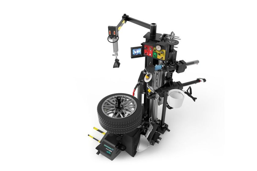 The Hofmann monty 8800 tire changer (pictured)has all of the features of the 8700, plus an...