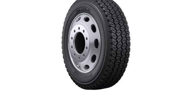 The new Bridgestone M704 tire for regional pickup and delivery service applications is now...