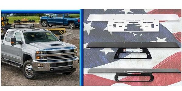 The new lighting mount for Chevrolet Silverado 4500 trucks is now available.
