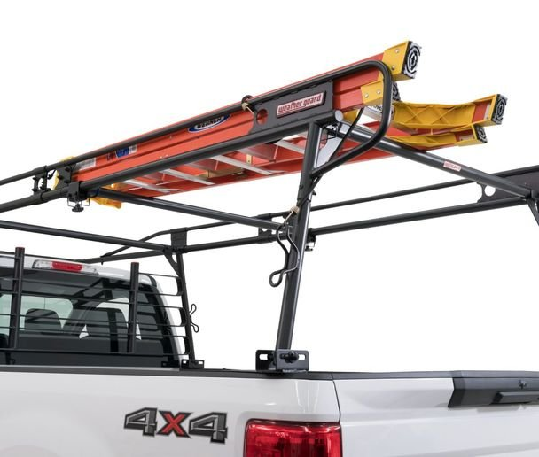 The Heavy Duty Steel Truck Rack is made to fit any truck bed length from 78 to 96 inches and can be installed with a true no-drill process. - Photo: Weather Guard