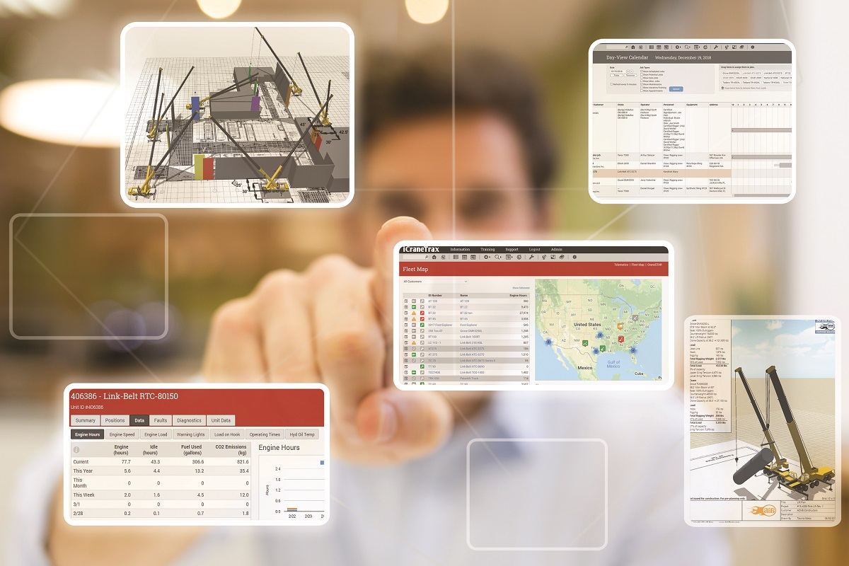 A1A Software Features New Crane Management Tools