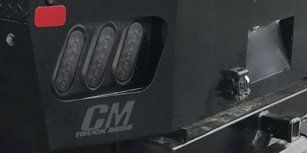 CM Truck Beds will be displaying Optronics' new 6-inch oval LED Smoke-Lens stop, tail, turn, and...