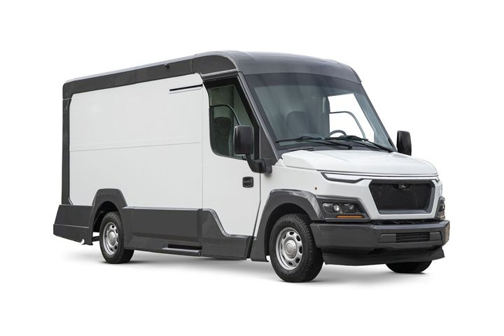 "The Storm provides large fleets and independent contractors with a ""D.O.T. FREE"" under 10,000-pound GVWR commercial-grade step van delivery solution. -"
