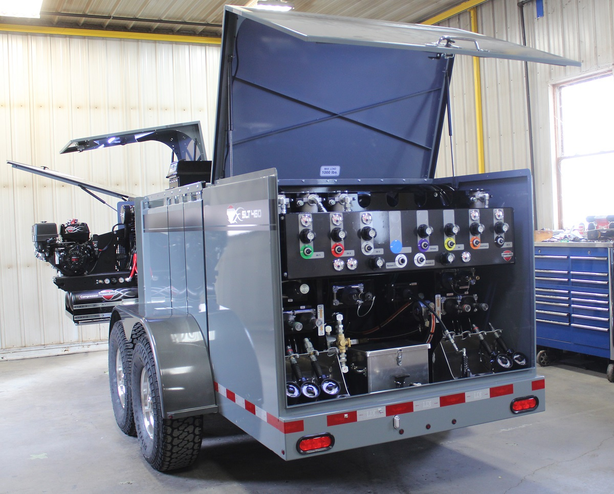 Service and Lube Trailer Offers More Functionality