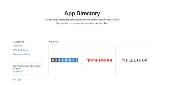 Integration partners featured in the Fleetio App Directory include leading fuel card providers,...