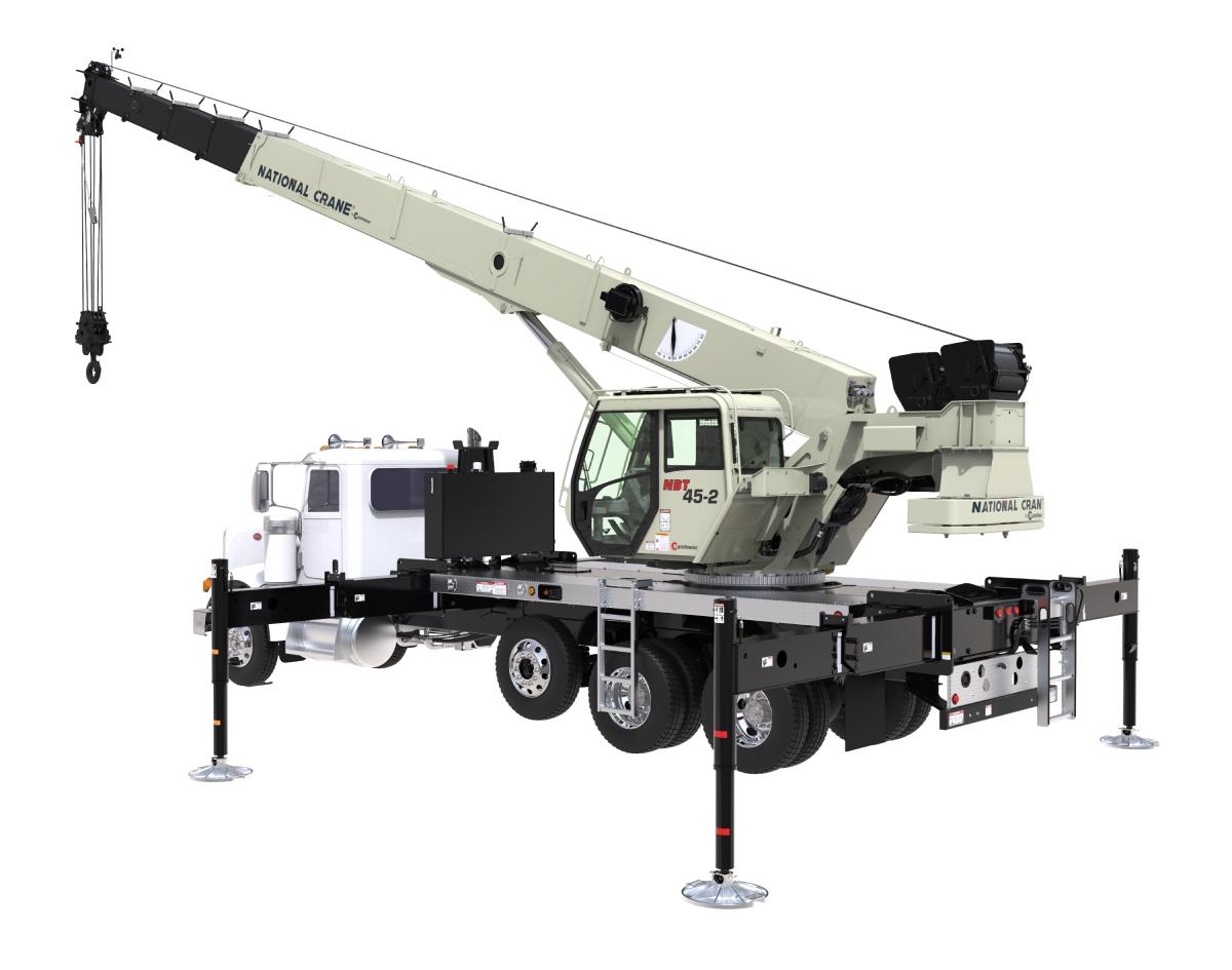 National Crane Unveils Boom Truck