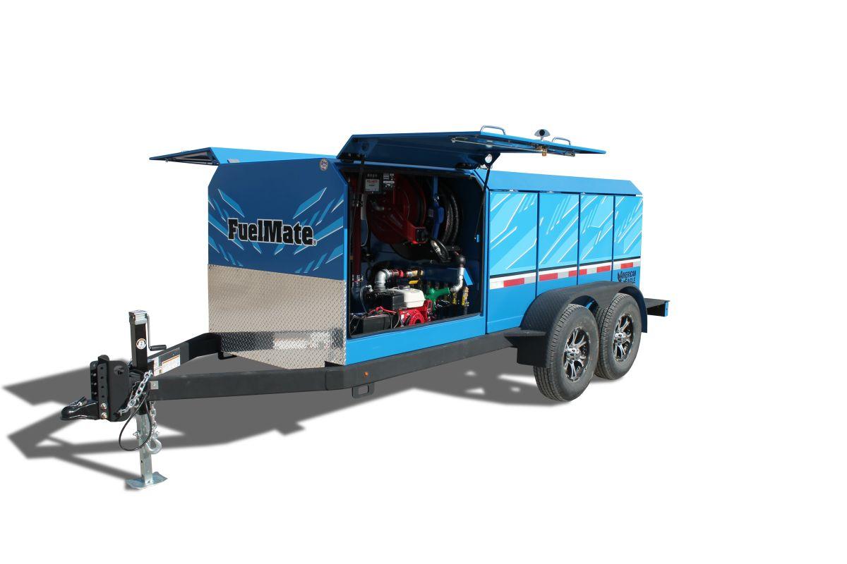 Multi-Tank Fuel Trailer Eliminates Need for CDL Hazmat Certification
