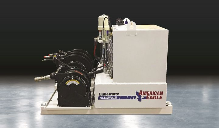 The company is expanding its LubeMate product line with aluminum models. - Photo courtesy of American Eagle