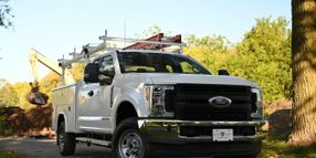 Over the Cab Material Rack Adds Overhead Capability to Service Bodies