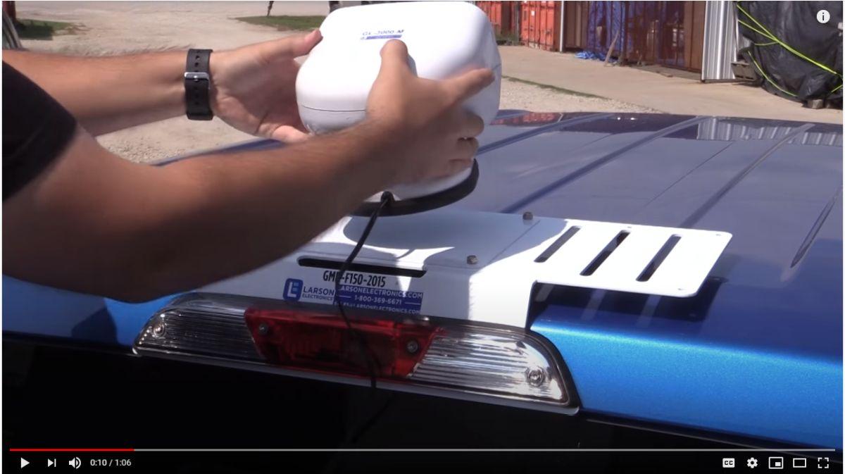 Ford Super Duty F-350 Light Bar Plates