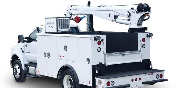 Master Mechanic Series Crane Bodies come in a variety of sizes and configurations.