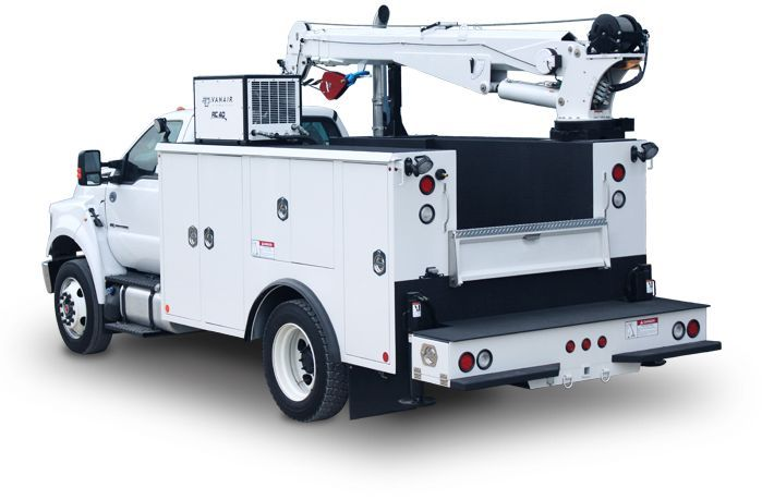 Master Mechanic Series Crane Bodies come in a variety of sizes and configurations.  - Photo: Reading Truck