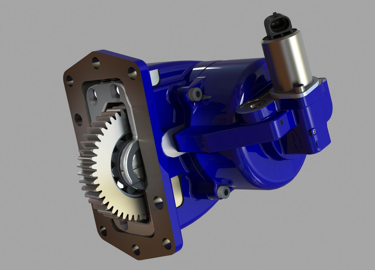 Muncie PTO Fits Ford 10-Speed Transmissions