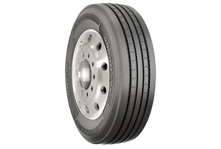 While the Roadmaster RM170+ tire is primarily used as a steer tire, it also has use as an all-position tire in applications where deep-biting traction isn't required. -