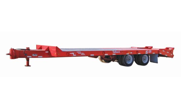 The dual axle AC-10 offers a 10-ton, 20,000-pound capacity with an overall transport length of...