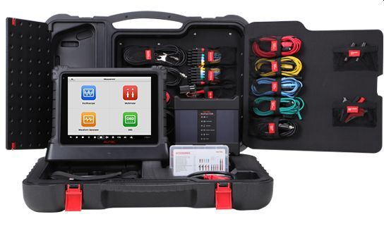 Accompanying the Ultra are the new MaxiSYS MS919 and MS909 tablets and two accessory kits. - Photo: Autel US
