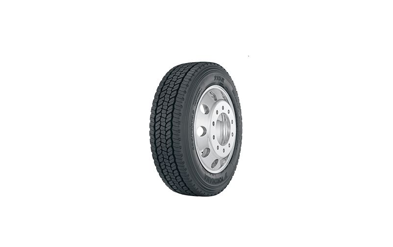 Yokohama 115R All-Position Tire for Medium-Duty Trucks