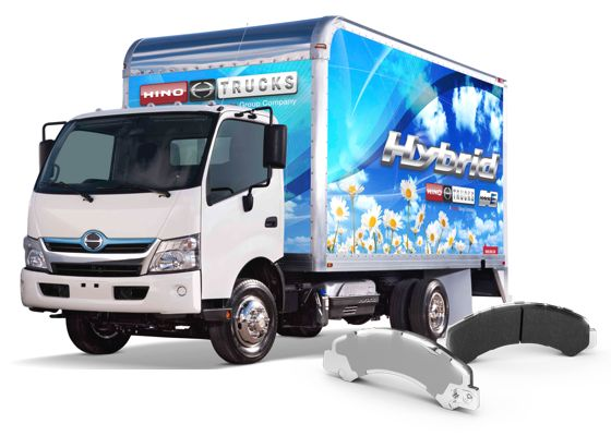 NRS Brakes Available for Hino 195h Hybird