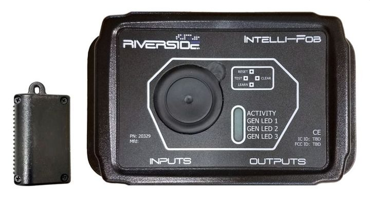 Intelli-Fobiswell-suited for use in fleet vehicles with the ability to haveup to eight fobs paired to a single module. - Photo: Riverside