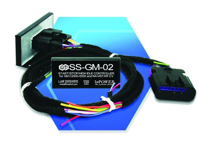 The SS-GM-02 module is easy to install and compact with a frame rail mountable case. - Photo: InPower