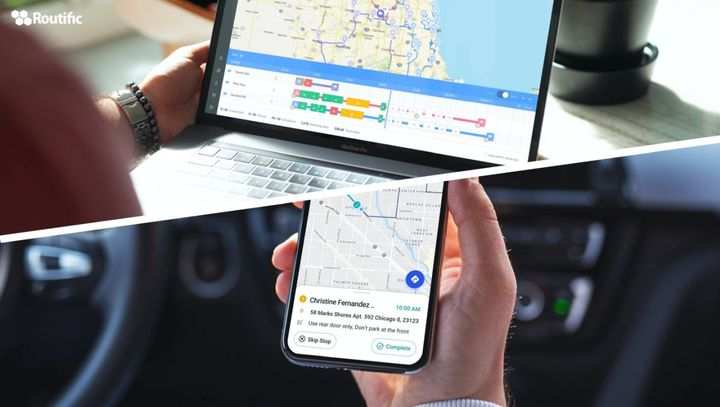Route planners can keep tabs on delivery drivers with live GPS tracking tools, and inform customers when to expect deliveries with automated text or email messages. - Photo: Routific