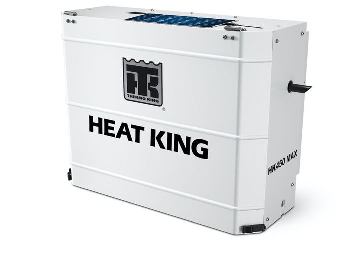 Thermo King is now offering solar panels on heating units to help fleets save money, increase battery life, and maximum uptime.  - Photo: Thermo King